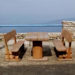 hacer mesa rustica desmontable