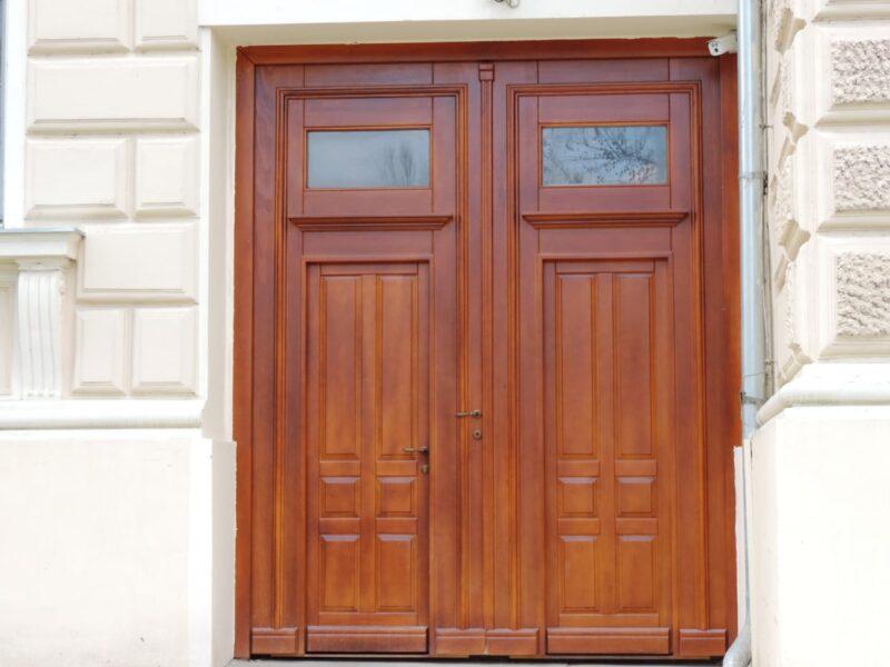 colocar puerta block