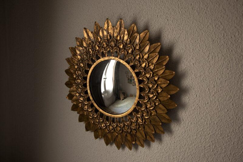 empapelar espejo papel pintado