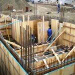 encofrado muros madera