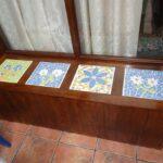 mosaico con azulejos